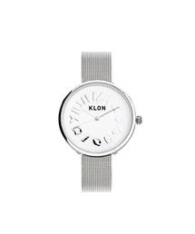 KLON(クローン)のKLON HIDE TIME -SILVER MESH- Ver.SILVER 33mm(腕時計)
