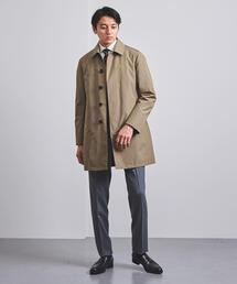 <UNITED ARROWS> タフタ ステンカラー コート