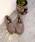 coen(コーエン)の「【昨年大人気】ハッスイフェイクファーモカシン(フラットシューズ/スリッポン)(スリッポン)」|グレー