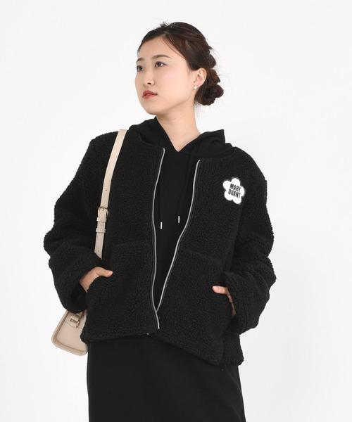 人気ブランドを ロゴワッペンボア ブルゾン(ブルゾン) QUANT|MARY MARY QUANT(マリークヮント)のファッション通販, コレぴよの太鼓判:75eba8a1 --- tsuburaya.azurewebsites.net
