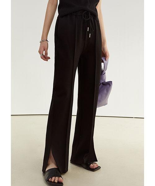 【Fano Studios】【2021SS】Side slit wide trouser FC21K037