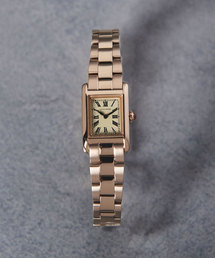 UAB スクエア メタル 腕時計