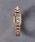 UNITED ARROWS(ユナイテッドアローズ)の「UAB スクエア メタル 腕時計(アナログ腕時計)」|ピンク