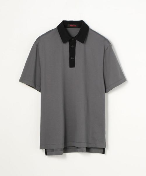 CABaN(キャバン)の「コットン ポロTシャツ(ポロシャツ)」 詳細画像