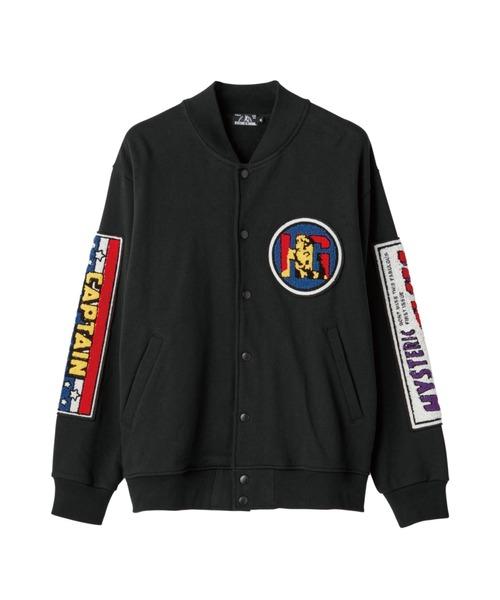 HERO COMICS ワッペン付きジャンパー
