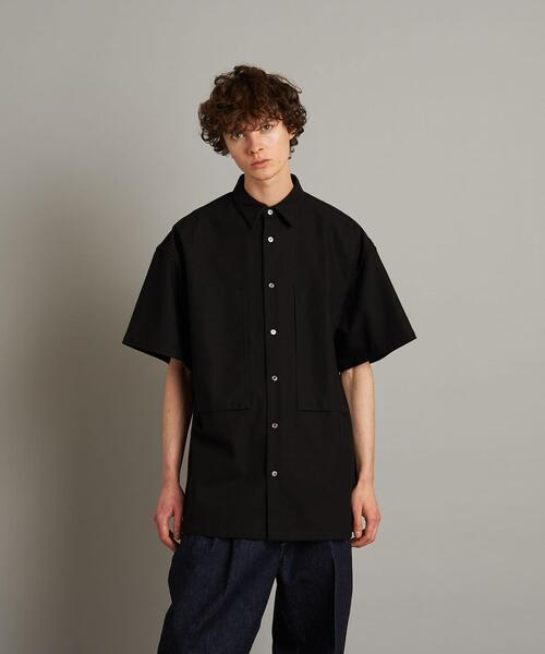 <E.TAUTZ × Steven Alan> LINEMAN SHIRT SHORT SLEEVE/シャツ
