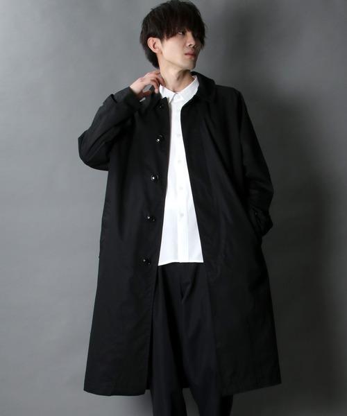 over size Bal collar coat/オーバーサイズ バルカラーコート/ステンカラーコート