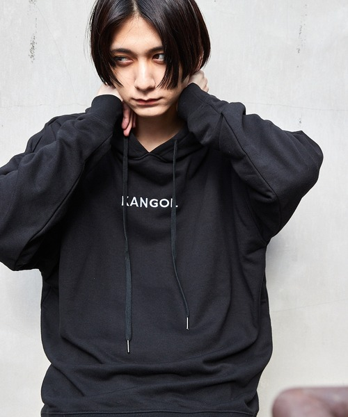 KANGOL/カンゴール 別注 スーパービッグシルエット プルオーバーパーカー