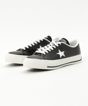CONVERSE | CONVERSE ONE STAR J (BLACK/WHITE)(スニーカー)