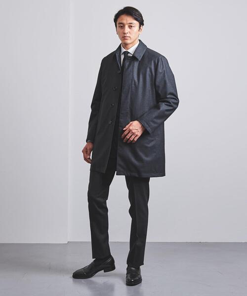 <UNITED ARROWS> ハーフ ステンカラー コート