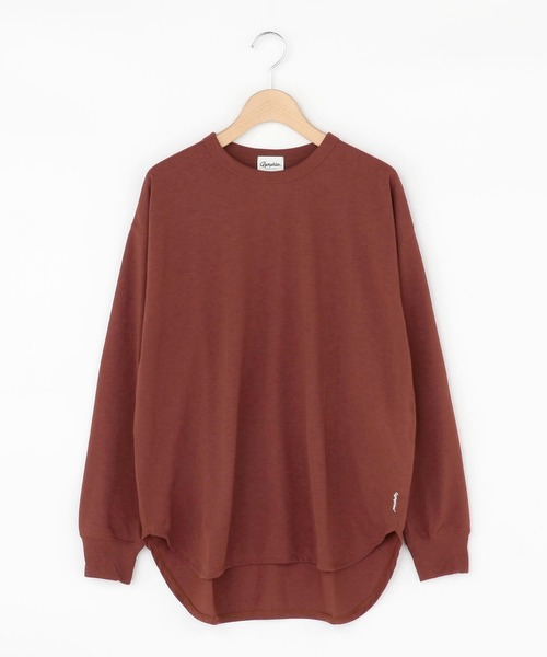 GYMPHLEX(ジムフレックス)の「【Gymphlex】ラウンドカット クルーネックTシャツ WOMEN(Tシャツ/カットソー)」 詳細画像