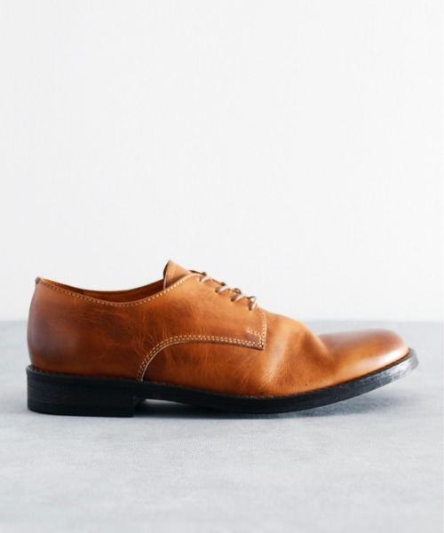 PADRONE パドローネ / 別注 PLAIN TOE SHOES PAOLO プレーントゥシューズ / PA8395-2001-11C