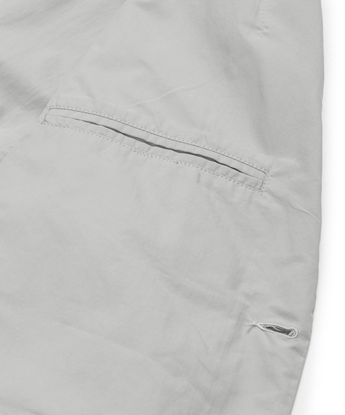 plain-me 撥水ナイロンポケット テーラードジャケット