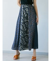 LAGUNAMOON(ラグナムーン)のミックスパターンパネルスカート(スカート)