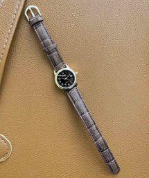 CASIO(カシオ)の【WEB限定】【CASIO】カシオ アナログレザーデイト(腕時計)
