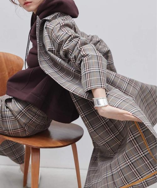 正規品販売! チェックコート【セットアップ可】(トレンチコート)|EUCLAID(エウクレイド)のファッション通販, 永平寺町:e7cf1497 --- hundeteamschule-shop.de