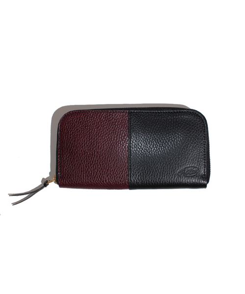 Dollaro leather long wallet / ロングウォレット / ドラーロレザー / ファスナー
