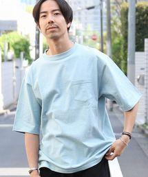 USAコットンビッグシルエットクルーネックTシャツ(一部WEB限定カラー)