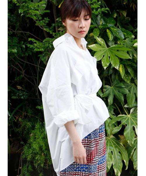 100%の保証 【セール】オーバーサイズウエストマークシャツ(シャツ/ブラウス) AVIE(アビィ)のファッション通販, DUE:6fc84071 --- rise-of-the-knights.de