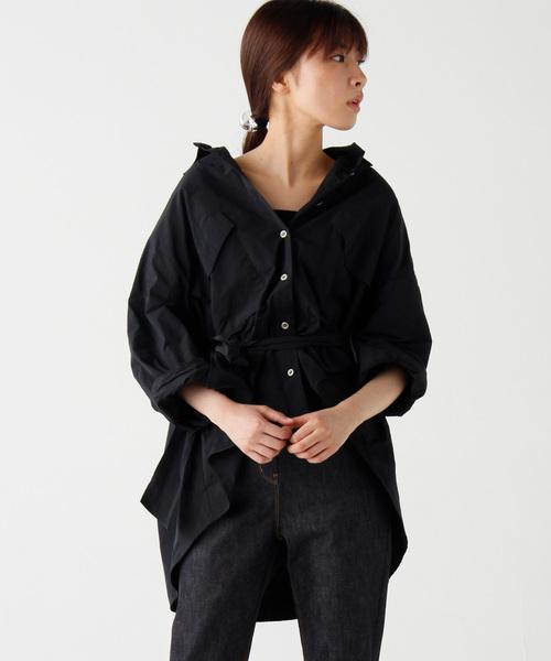 日本最大のブランド 【セール】オーバーサイズウエストマークシャツ(シャツ/ブラウス)|AVIE(アビィ)のファッション通販, クッションカバーランチョンマット:bdcacbf3 --- rise-of-the-knights.de