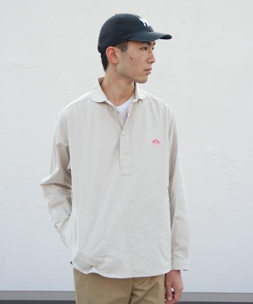 DANTON/ダントン オックスプルオーバーシャツ OX PULLOVER SHIRT (メンズ)