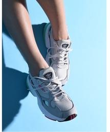 adidas(アディダス)の「adidas アディダス FLCN W ファルコン F35269_ 18FA ABC-MART限定 GRY/GRY/GRY(スニーカー)」