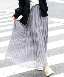 Fashion Letter(ファッションレター)のシフォンプリーツスカート(スカート)