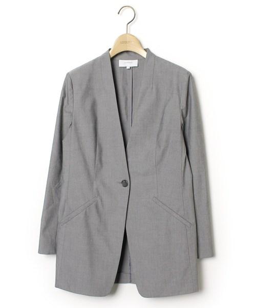 独特な ノーカラージャケット, 佐勘金物店 f5b16e96