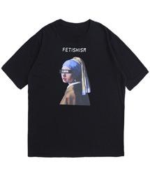 STUDIOUS(ステュディオス)の【STUDIOUS】フェルメールグラフィックTシャツ(Tシャツ/カットソー)