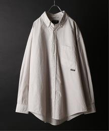WILLY CHAVARRIA(ウィリーチャバリア)のPALMER for relume / CHAVO SHIRT ストライプビッグシャツ(シャツ/ブラウス)