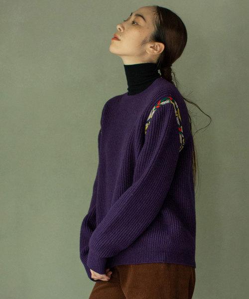 【代引き不可】 パイピングニット(ニット/セーター) MARECHAL MARECHAL TERRE(マルシャルテル)のファッション通販, ふくしまけん:a3e429d4 --- skoda-tmn.ru