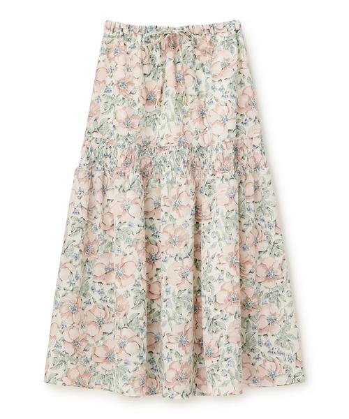 ピオニーフラワーギャザースカート