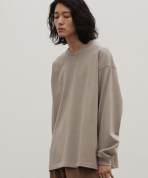 WYM LIDNM(ウィム バイ リドム)の【WYM LIDNM】HEAVY WEIGHT OVERSIZED LS-TEE -2021 S/S 2nd COLLECTION-(Tシャツ/カットソー)