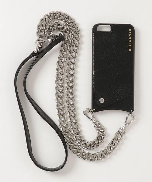 BANDOLIER(バンドリヤー)ANNA BLK&L/LINK CHAIN / iPhone SE,8,7,6s,6対応