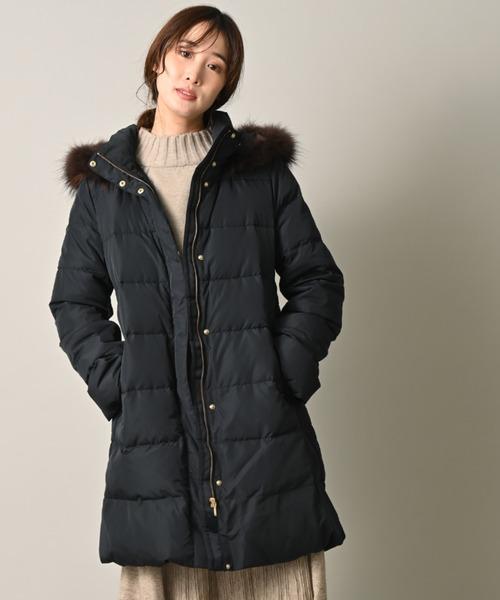 『3年保証』 【セール】ルザスフードファー付86丈ダウンコート(ダウンジャケット/コート)|INTERPLANET(インタープラネット)のファッション通販, sarasa design store:a621e4f8 --- bebdimoramungia.it