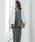 Emma Taylor(エマテイラー)の「【STYLEBAR】シェルボタンリネンダブルジャケット(テーラードジャケット)」|オフホワイト