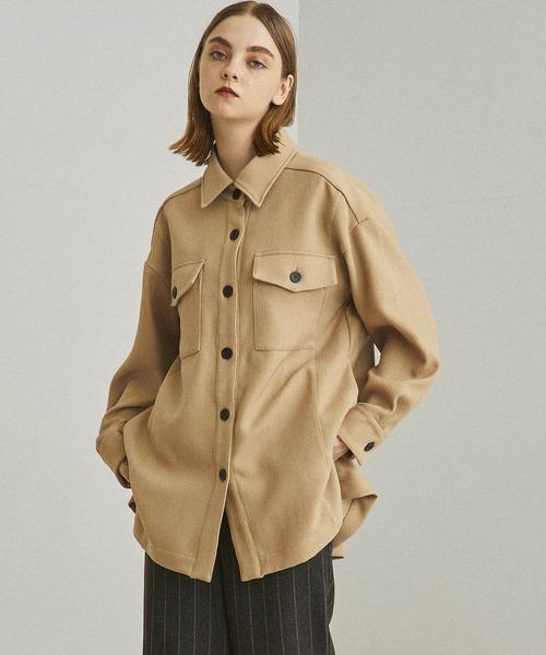 大人の上質  ウォームビッグシャツ(シャツ TOKYO/ブラウス) UNITED|UNITED TOKYO(ユナイテッドトウキョウ)のファッション通販, よろずや倉庫:bf480289 --- fahrservice-fischer.de