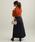 ViS(ビス)の「【WEB限定カラー:オレンジ】レイヤード風アシンメトリープルオーバー(ニット/セーター)」|詳細画像