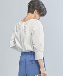 【WORK TRIP OUTFITS】★WTO CS ネジレブラウス 2WAY