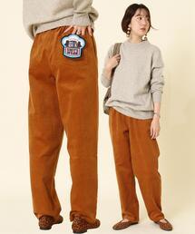 【男性にもオススメ・WEB限定サイズ】コーデュロイシェフパンツ#''CHEF PANTS''(イージーパンツ/バルーンパンツ/柄パンツ)