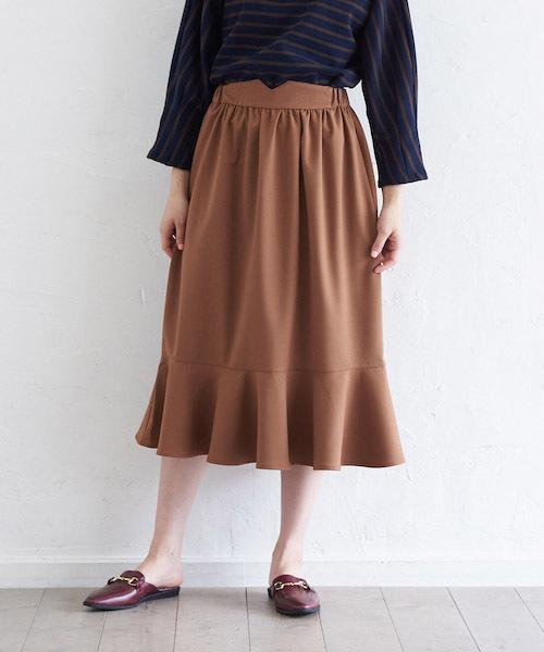 【STYLEBAR】ペプラムスカート