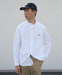 DANTON/ダントン オックススタンドシャツ OX STAND SHIRTS(メンズ)#JD3607YOXホワイト