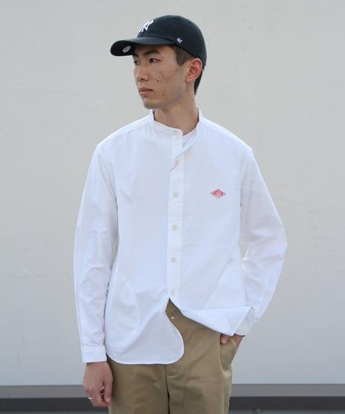 DANTON / ダントン スタンドカラーシャツ オックスフォードクロス(メンズ)#JD3607YOX