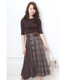 JUSGLITTY(ジャスグリッティー)の3WAYスカート(スカート)