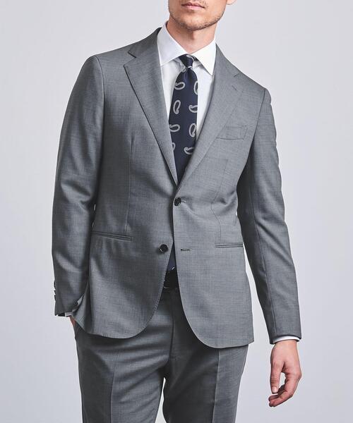 <UNITED ARROWS> ストレッチ トロピカルウール 2B スーツ