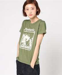 FLOWER GIRL プリント Tシャツ