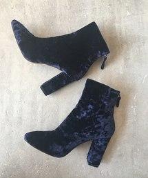 BANNER BARRETT(バナーバレット)の【Mollini】Velvet Boots(ブーツ)