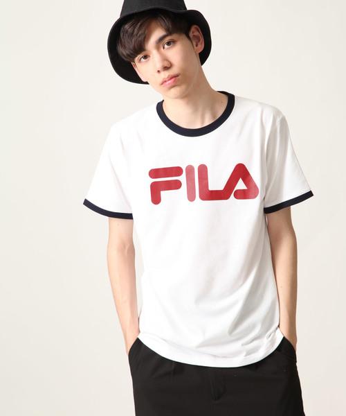 FILA/フィラ リンガーTee【リンガーTシャツ】