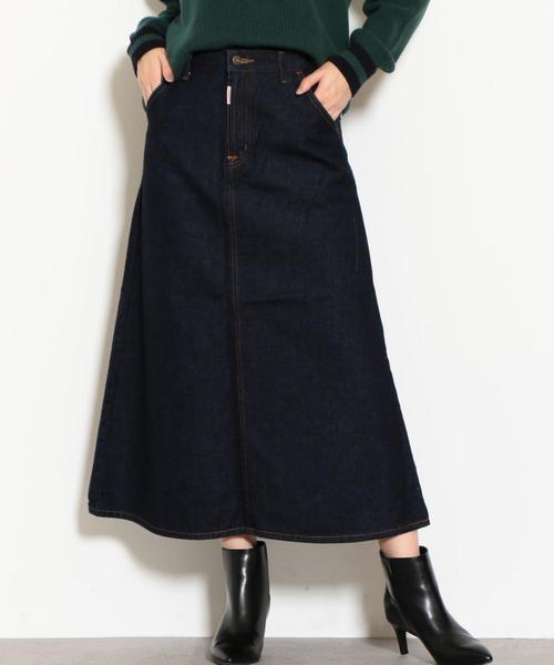 [別注 サムシング] SC SOMETING×GLR MD デニム スカート