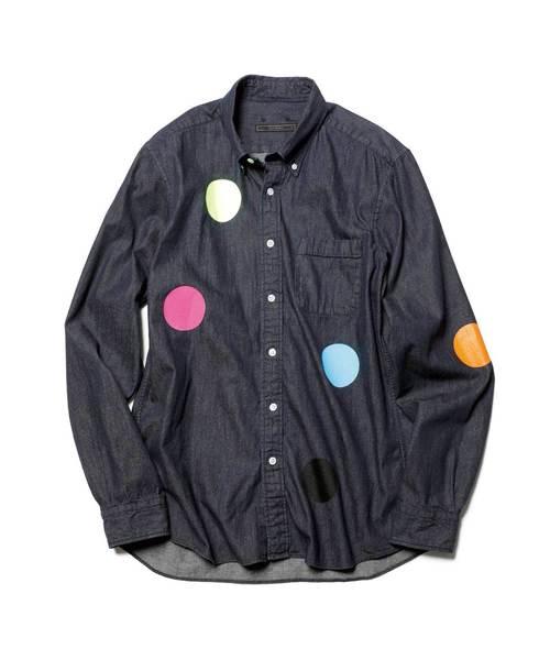 【楽天ランキング1位】 DAMAGED B.D DOT B.D SHIRT(シャツ/ブラウス) DOT SOPHNET.(ソフネット)のファッション通販, Foot&Rain デポ:8c2c5aef --- skoda-tmn.ru
